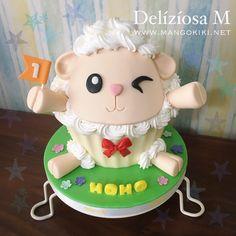 Sheep themed Giant Cupcake!!