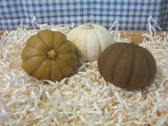 Pumpkin Silicone Candle Mold Soap Mold DIY Beeswax by grandhorse
