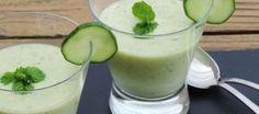Komkommersoep; verkoeling in de zomer