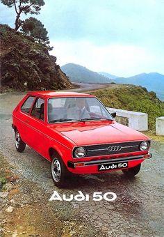 Audi 50   Old-school