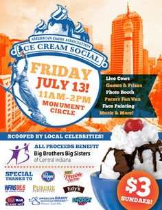 AroundIndy.com Blog: 29th Ice Cream Social on the Circle and 106 more I...