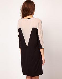 Enlarge Vero Moda Mesh Insert Low Back Dress
