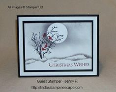 Stampin' Up! Serene Silhouettes / Christmas Card