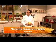 Mohnnudeln mit geschmorten Quitten (Eveline Wild) - YouTube Eveline Wild, Desserts, Youtube, Poppy, Noodle, Tailgate Desserts, Deserts, Postres, Dessert