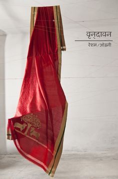 mashru and chanderi handwoven saris, stoles and dupattas by Raw Mango.     See more: http://www.facebook.com/GoodEarthIndia