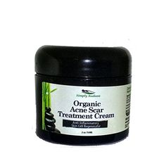 Simply Radiant Beauty Best Organic Acne  Scar Treatment Cream Contains Tamanu Tumeric Shea Butter  Rose Hip Oils to Fade Scars Heal and Generate Skin * Be sure to check out this awesome product.