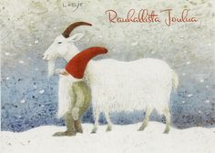 Lennart Helje is painter, illustrator, born in 1940 in Lima, Sweden. He paints Christmas elves in snowy landscape. Fairytale Artist. Several paintings are reproduced as Christmas cards, both in Sweden and internationally, by UNICEF. He has also illustrated the stamps and postal Christmas seals, with Nordic nature and plant motifs.