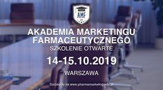 Zapraszamy początkujących Brand Managerów na kolejną edycję szkolenia otwartego w ramach Akademii Marketingu Farmaceutycznego! Szkolenie odbędzie się w dniach 14-15.10.2019 w Warszawie. Content Marketing, Digital Marketing, Inbound Marketing