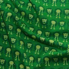 """Bio Interlock grün """"lejon"""" Löwen Design Darling Dearest - Die kleine Stoffmaus"""