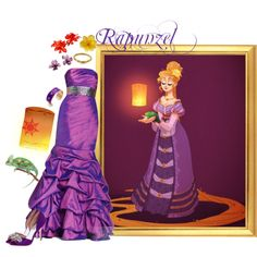 """Historically Correct: Rapunzel"" by merahzinnia on Polyvore"