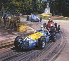 Michael Turner schildert al racewagens sinds de jaren 50 en is misschien wel de bekendste in zijn genre. Er zijn weinigen die de kwaliteit van zijn...