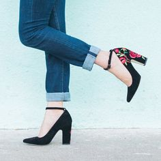 Embroidered Heels by Billy Ella // AnthroFave