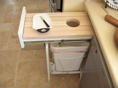 A great idea for the kitchen