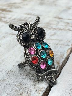 Owl Jewelry - Owl Ring  - Fashion Jewelry - Large by BostonInventory, $10.00