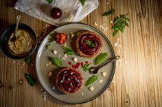 Tarte aux Prunes (Vegan)/Plum's Pie (Vegan) Plum Pie, Vegan Challenge, Cherry, Fruit, Blog, Fine Dining, Recipe, Cherries