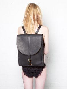 The backpack. #fashiondilemma #motilostylist