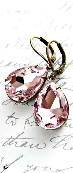 Earrings - a great accessory to have matching all of your outfits.