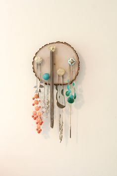 Jewelry Hanger/Organizer by brittttttanyyy on Etsy