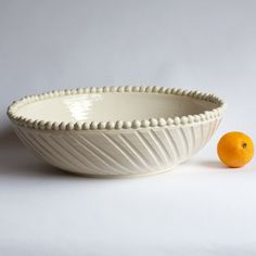 Frances Palmer No. 8 Low Wide Bowl