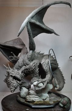 Bull Dragon 1 by AntWatkins.deviantart.com on @deviantART