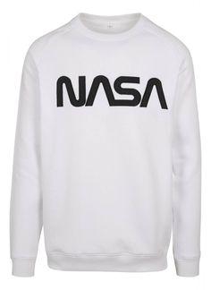 Nasa pulóver, NASA , Mister Tee, MT858 white, 14.998 Ft divat webáruház, divat webshop, online vásárlás, www.trendcity.hu Nasa, Online Vásárlás, Hip Hop, Crew Neck, Leggings, Urban, Sweatshirts, Sweaters, Material