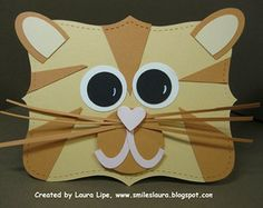 Handmade Shaped Cards. Smiles, Laura: Top Note Dogs and Cats