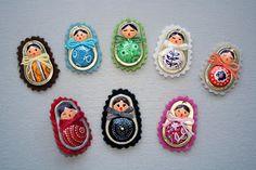 Matrioskas con anillas de latas / Ringpull matryoshkas