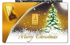 It's beginning to look a lot like Christmas!! Get these authentic and unique special edition gold cards as gifts to your family and friends for Christmas. This is something that they will truly treasure.  To get yours today visit: http://wealththroughgold.com/karatbars