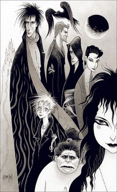 Marc Hempel drew The Kindly Ones from the Sandman series. His stuff rules!