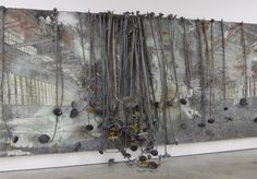 anselm kiefer, I have seen this piece in person....
