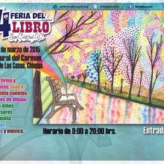 #PROXIMAMENTE  4ta Feria del Libro San Cristobal 12, al 15 de Marzo 2015