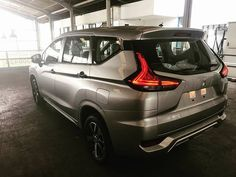 #Mitsubishi #Xpander (Mitsubishi Expander) with beige interior spotted inside-out