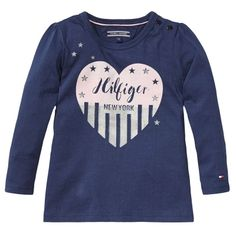 Tommy Hilfiger T-shirt | Winter collectie 2015 | www.kleertjes.com #kinderkleding #babykleding #kids #fashion