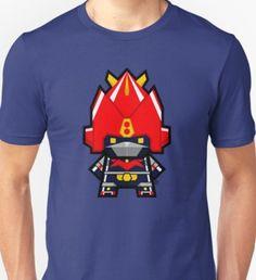 'Mekkachibi Voltes V' T-Shirt by Eozen 70s Icons, Theme Song, Printed Shirts, Shirt Print, T Shirt, Shirt Designs, Songs, Unisex, Tees