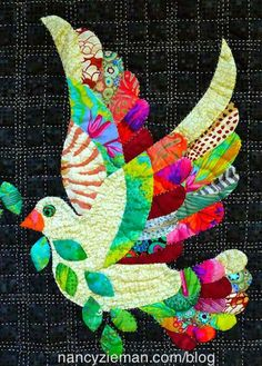 "Love the Dove,"" a Free Quilt Pattern 