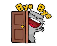 Cartoon Gifs, Animated Cartoons, Cute Cartoon, Bye Gif, Sunset Wallpaper, Cute Cat Gif, Beautiful Gif, Animation, Gif Animé