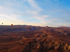 Vôo de balão na Cappadocia