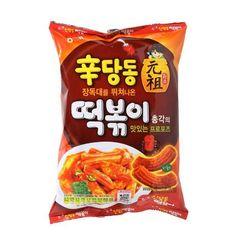 Hot Spicy Korean Snack HAITAI ORIGINAL SIN DANG DONG TTeokbokki Topokki 215g #HAITAI