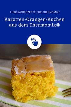 Veganer Orangen-Karotten-Kuchen aus dem Thermomix® – Foto: Nicole Stroschein