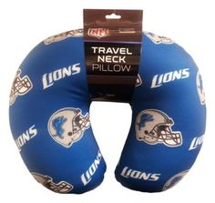 NFL Detroit Lions Beaded Spandex Neck Pillow >>> Want additional info? Click on the image.