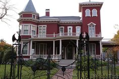Stephen Kings House...all our out of state visitors had to do a drive by.