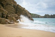 The Seaside Diaries - Porthcurno, Cornwall