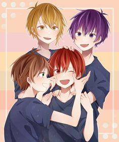 Boy Drawing, Nichijou, Twin Boys, Otaku, Cute Anime Boy, Manga, Guys And Girls, Vocaloid, Kawaii Anime