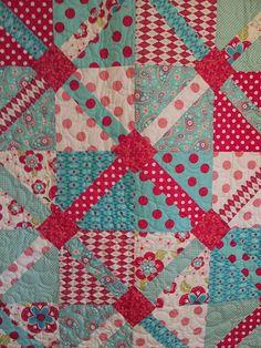 love the combination of fabrics