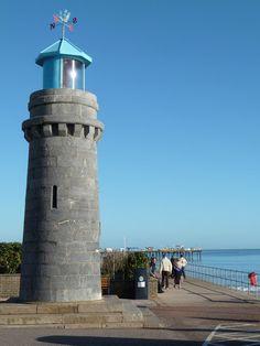 Teignmouth lighthouse,South Devon