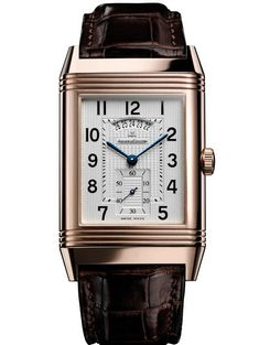 The Reverso by Jaeger-LeCoultre, A classic.