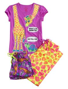 Giraffe 3 Piece Pajama Set | Girls Pajamas & Robes Clothes | Shop Justice