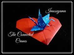 Origami Maniacs 186: Imoseyama....The Connected Cranes...