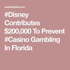 #Disney Contributes $200,000 To Prevent #Casino Gambling In Florida Disney Hub, Epcot, Magic Kingdom, Florida, The Florida