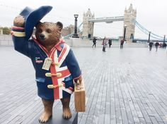 There are now 50 amazing Paddington statues across London to celebrate the arrival of Paddington in cinemas on 28 November - Oh my goodness! Never more have I wished I could take a trip to London :) Oso Paddington, Wanderlust, Things To Do In London, England And Scotland, London Travel, Travel Uk, London Calling, Union Jack, British Style